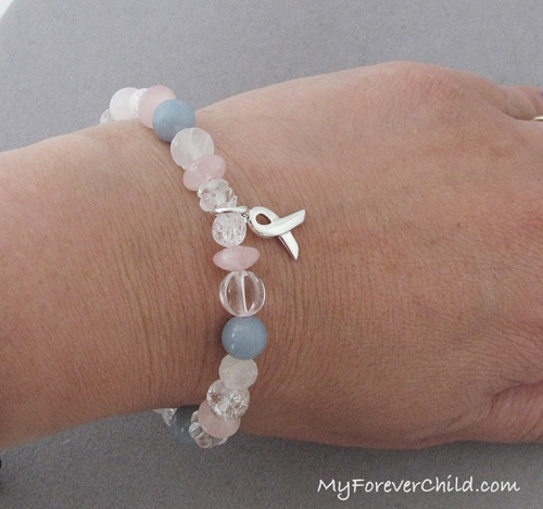 Miscarriage and Pregnancy Loss Healing Gemstone Bracelet
